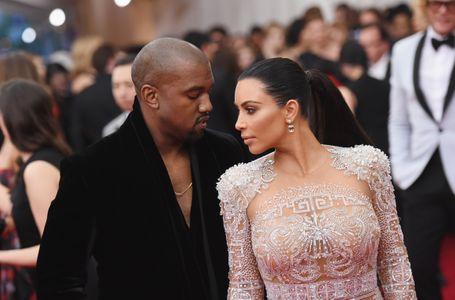 Kanye West et Kim Kardashian complices.