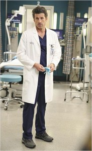 Patrick Dempsey alias Drek Shepherd dans Grey's Anatomy