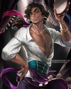 Esmeralda versão masculina