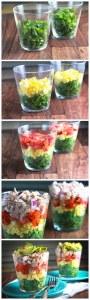 "Salada ""arco-íris"""