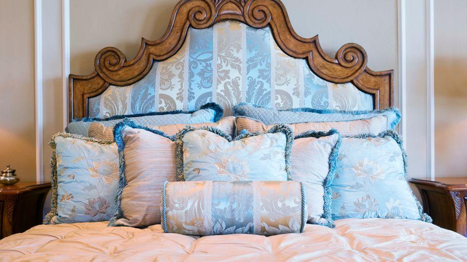 Mude a cara do quarto com uma cabeceira de cama diferente