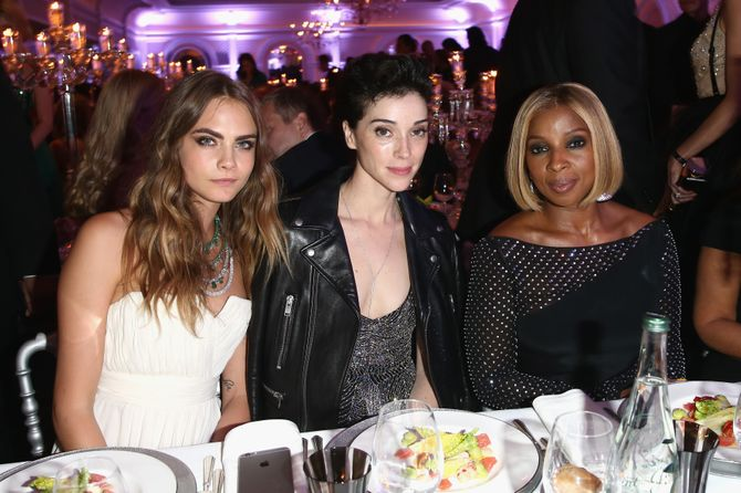 Cara Delevingne, Annie Clark et Mary J Blige