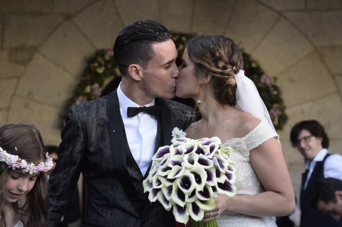 Jose Callejón y Marta Ponseti