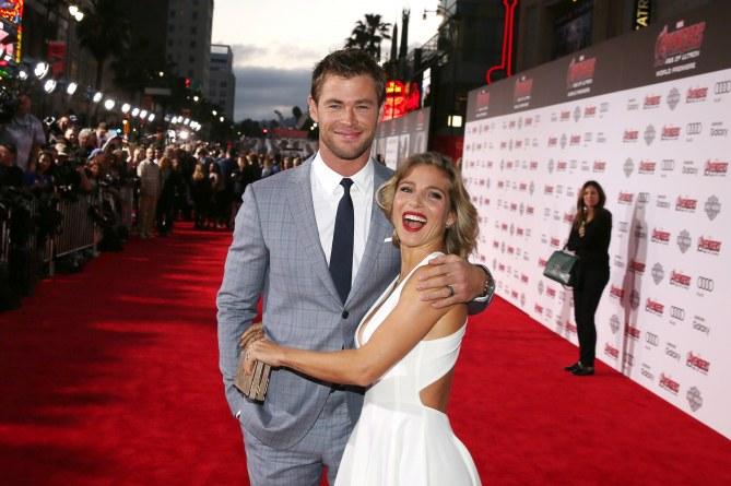 Elsa Pataky y Chris Hemsworth