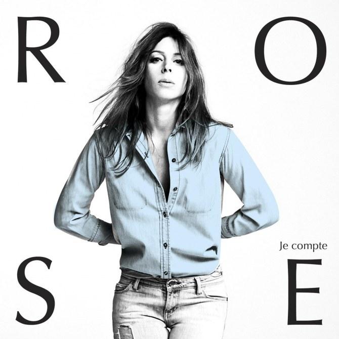 Rose pour son single Je Compte