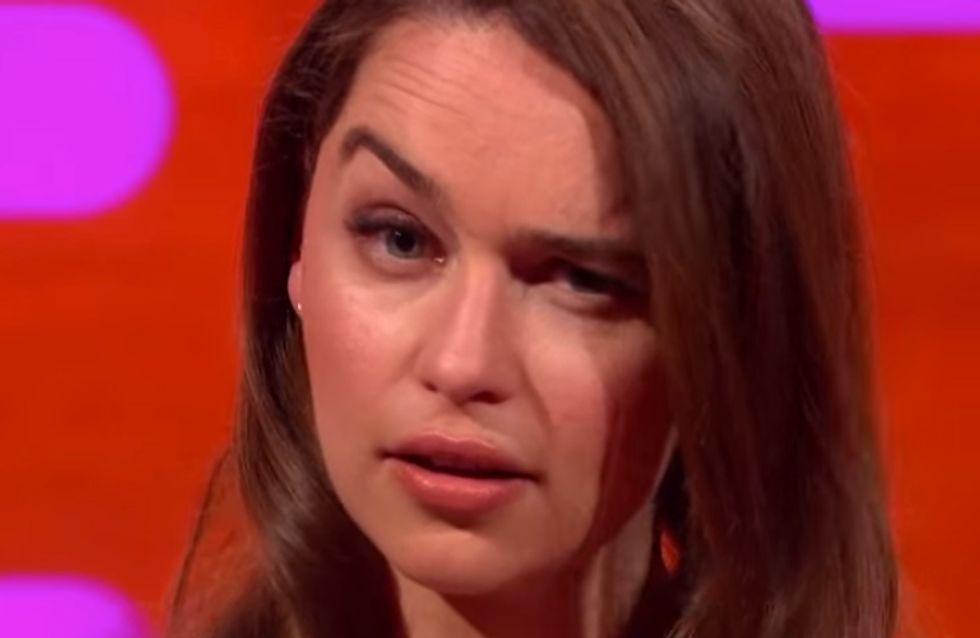 Cara Delevingne And Emilia Clarke Just Had The MOST Epic Eyebrow-Off Ever