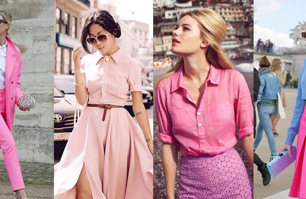 How To Pull Off Pink And Still Look Classy With It