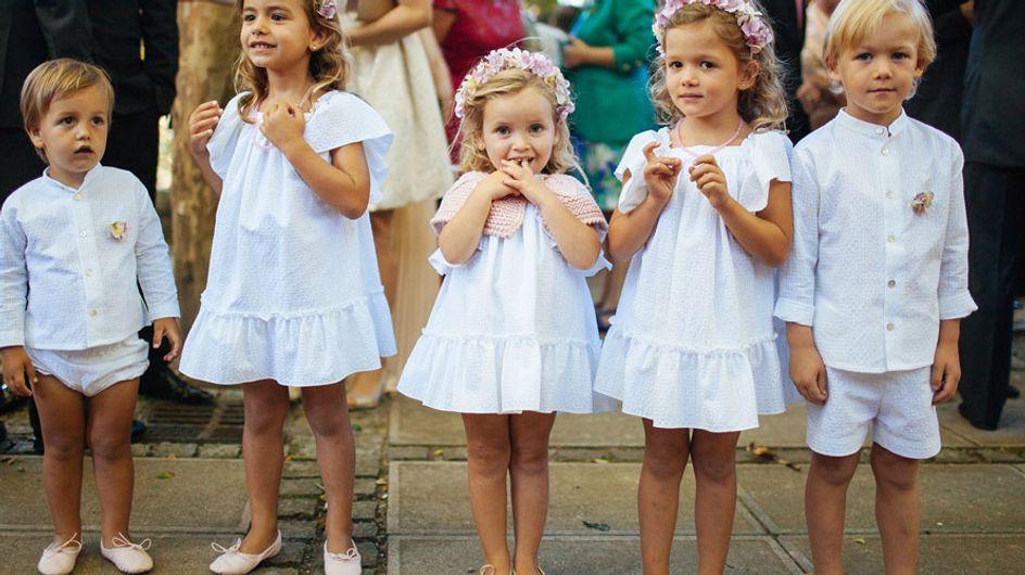 Los pajes de la boda: recomendaciones para vestirlos bien