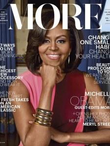Michelle Obama pour More.