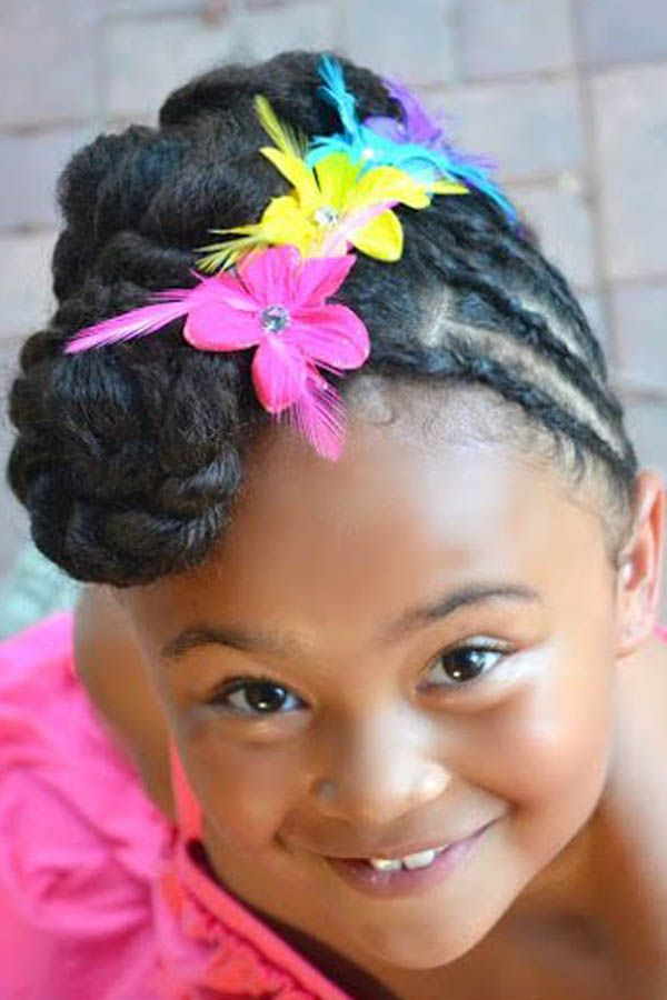 Cute Afro Hairstyles For Black Girls