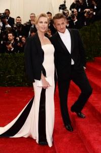 Charlize Theron et Sean Penn.