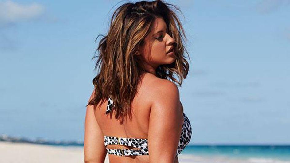 Denise Bidot, top plus size non retouché dans la campagne de bikinis de Swimsuitsforall (Photos)