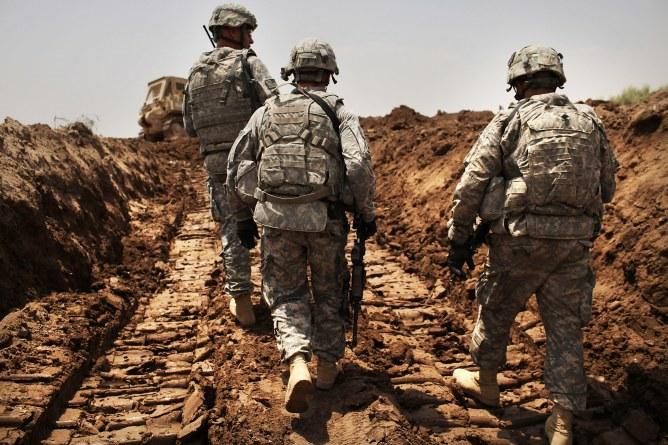 Des soldats américains en Irak