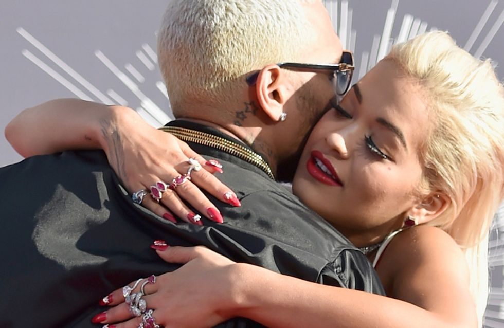 Rita Ora's Comments About Chris Brown Are All Kinds Of Ridiculous