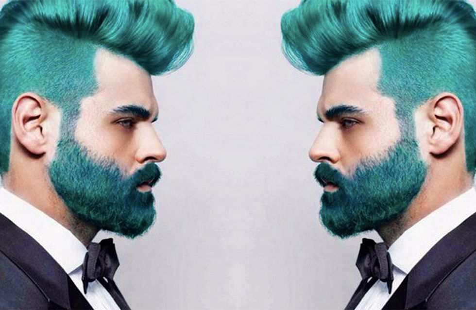 Hot Or Not? Rainbow Beards Are Here And We're Not Sure How To Feel