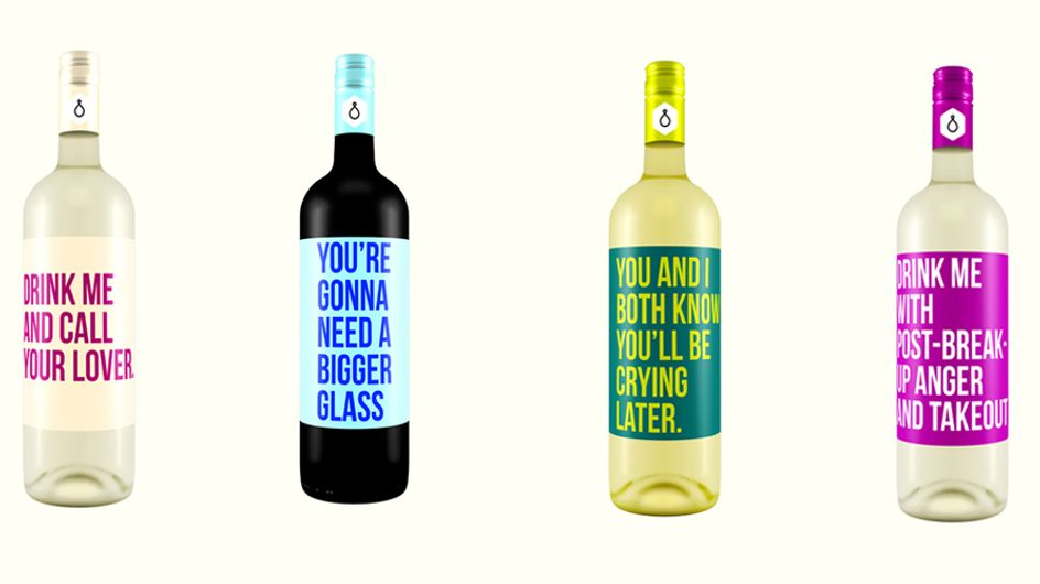 These Hilarious Bottle Labels Reveal Our True Relationship With Wine