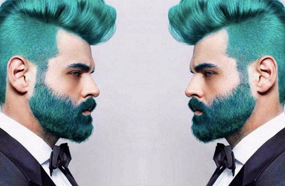 Hot or not? A barba arco-íris chegou e não sabemos como lidar