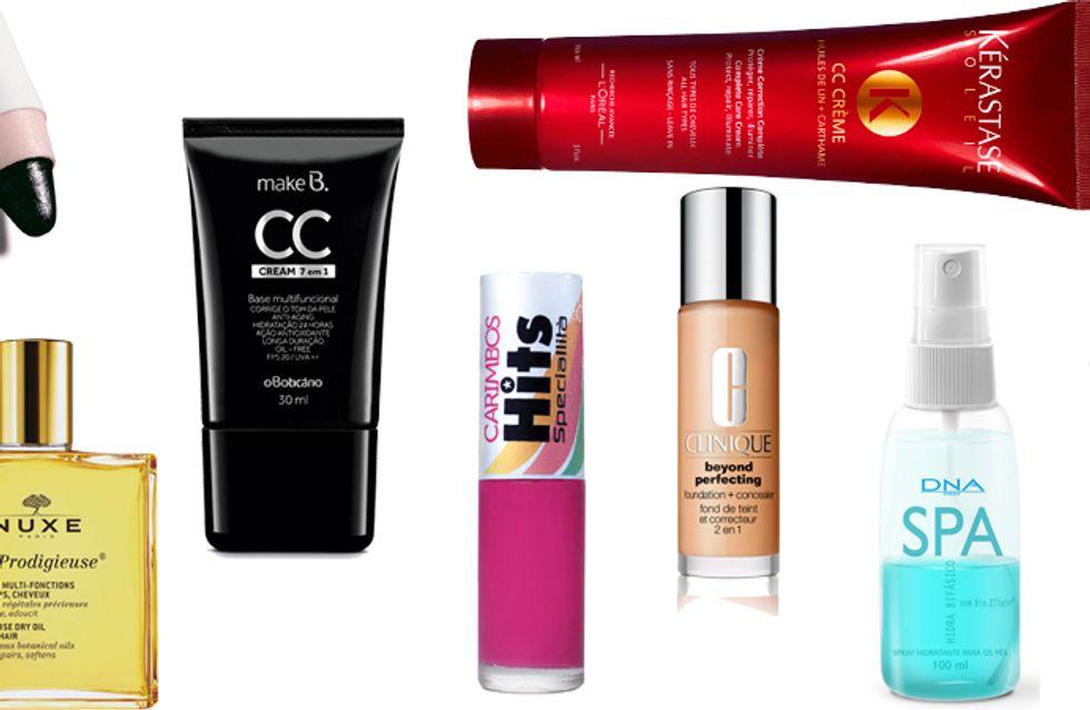 Produtos de beleza multifuncionais: muitos benefícios, uma só embalagem