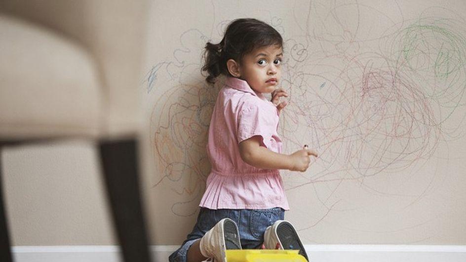 Niños y rotuladores: sus mejores obras de arte sobre los muebles de tu casa