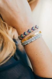 Bracelet chevron