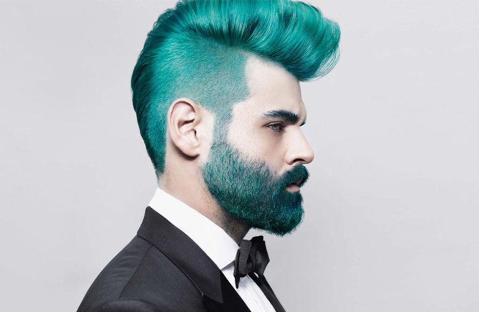El rainbow hair ya no es solo cosa de chicas. Llega el Merman Style