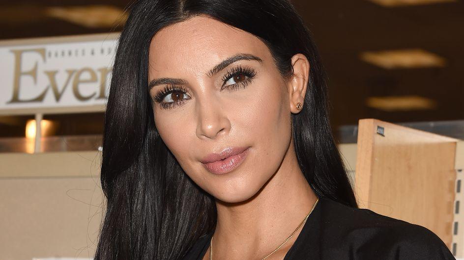 Kim Kardashian enceinte et angoissée à cause de son poids