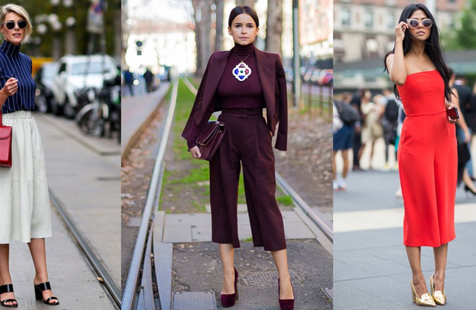 25 Women Who Are Totally Owning Culottes Right Now