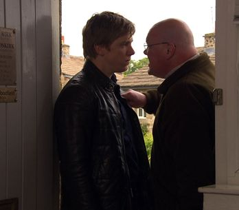 Emmerdale 10/07 - Robert has proved he will go to any lengths to keep his affair secret