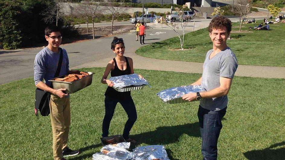Feeding Forward, l'application d'une jeune Californienne qui vient en aide aux SDF