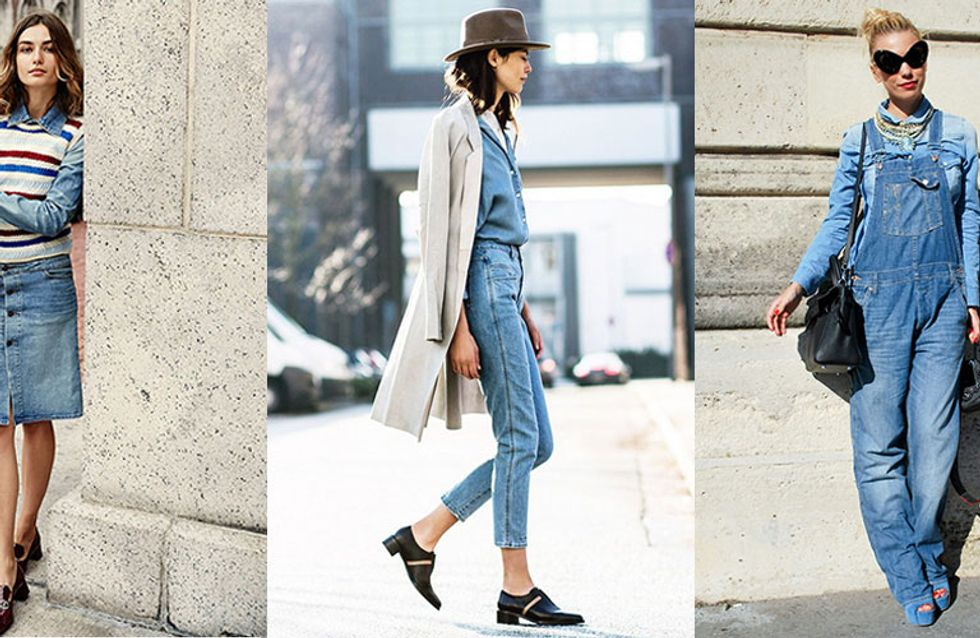 25 Looks That'll Make You Dig Double Denim