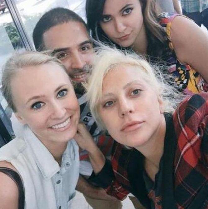 Lady Gaga sans maquillage à la Gay Pride de Chicago