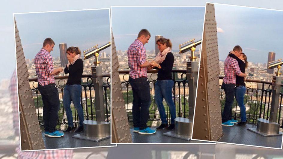 Sie wurde Zeugin ihrer Verlobung: Hilf der Fotografin, dieses Paar zu finden