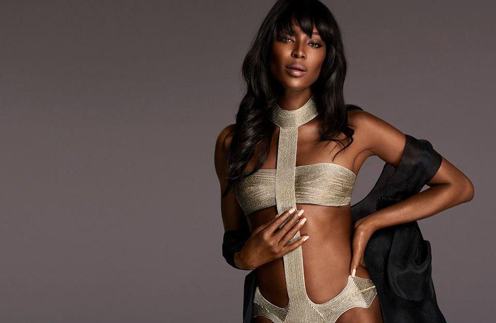 Naomi Campbell sexy pour la lingerie La Perla (Photos)