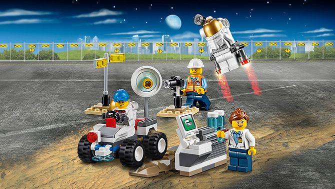 Des Lego scientifiques.
