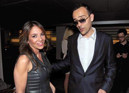 Ruth Jiménez y Risto Mejide
