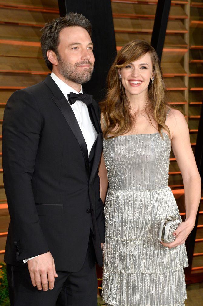 Jennifer Garner et Ben Affleck en 2014