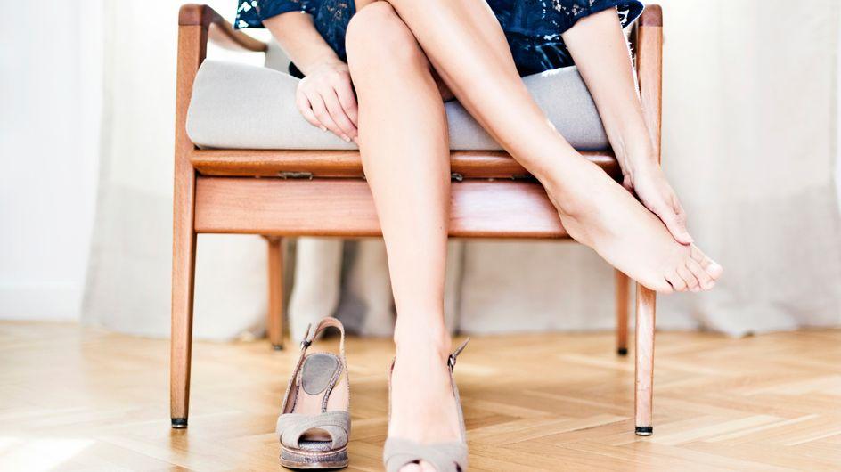 10 Dinge, die jede Frau mit großen Füßen kennt (und was hilft)