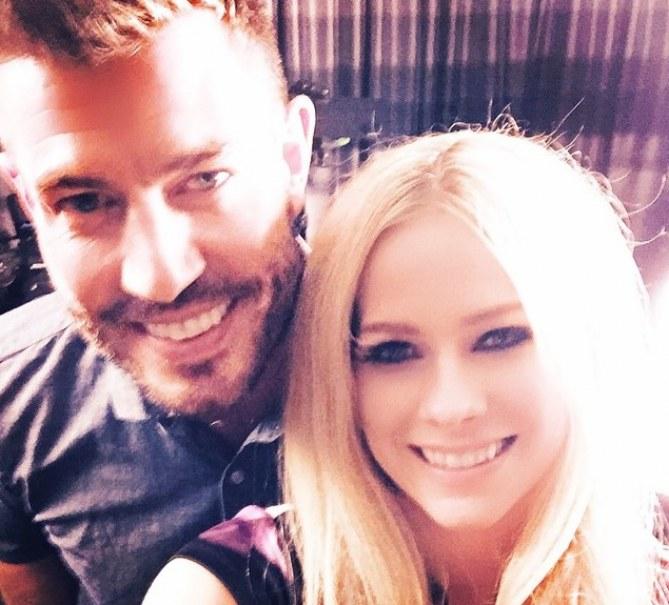 Avril Lavigne et Jesse Palmer
