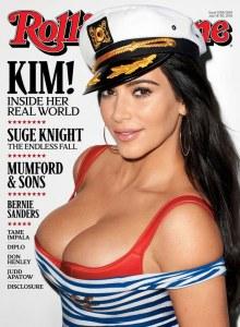 Kim Kardashian pour Rolling Stone.