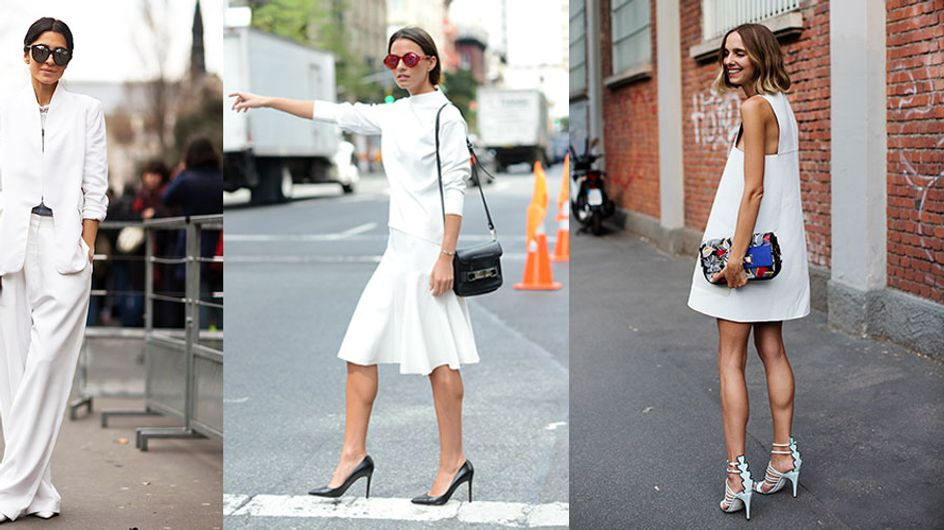 21 Ways To Style White From People Who Know