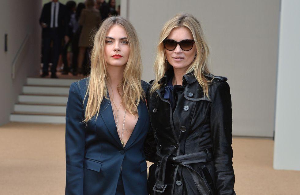 Kate Moss et Cara Delevingne de nouveau réunies pour Burberry (Vidéo)