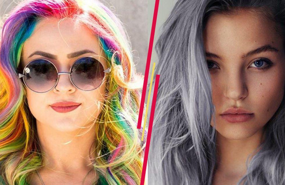 Haarige Farbexplosion: Diese kuriosen Haartrends machen den Sommer 2015 kunterbunt!