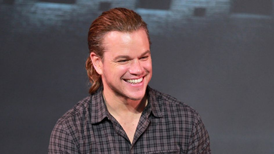 Matt Damon Has A Ponytail And We Don't Know How We Feel
