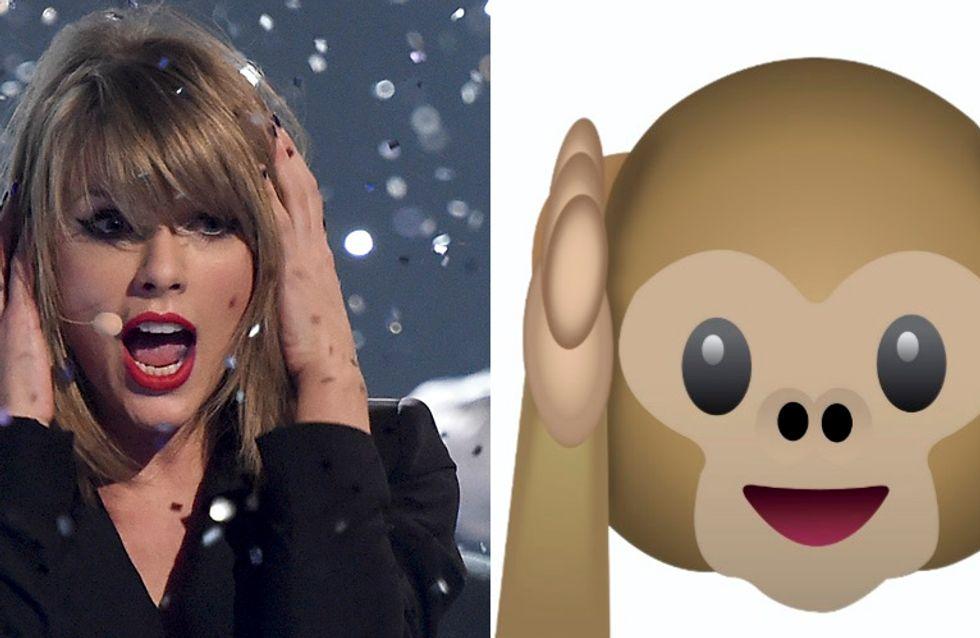É a Taylor Swift ou é um Emoji?