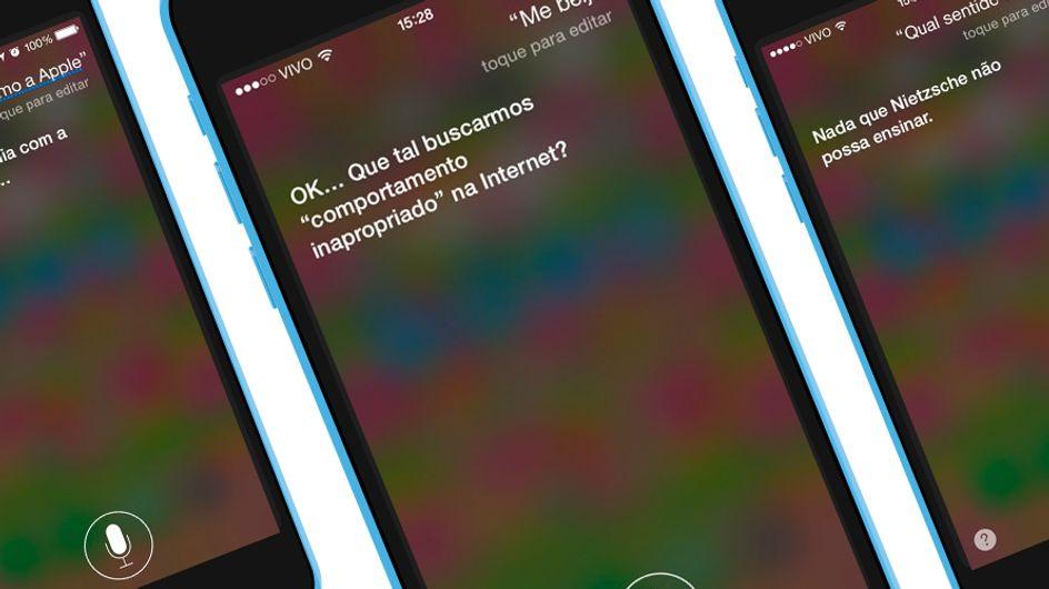 As 22 respostas ~bizarras~ que a Siri nos deu para questões da vida