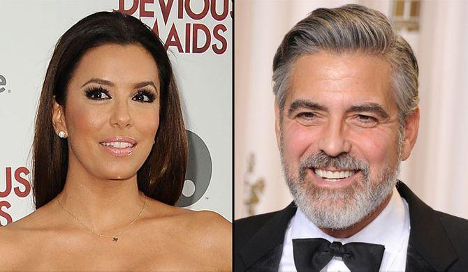 Eva Longoria  - George Clooney