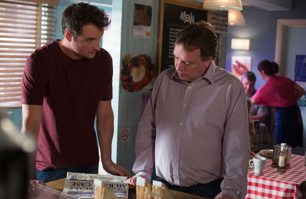 Eastenders 16/07 -The residents of Albert Square are shocked