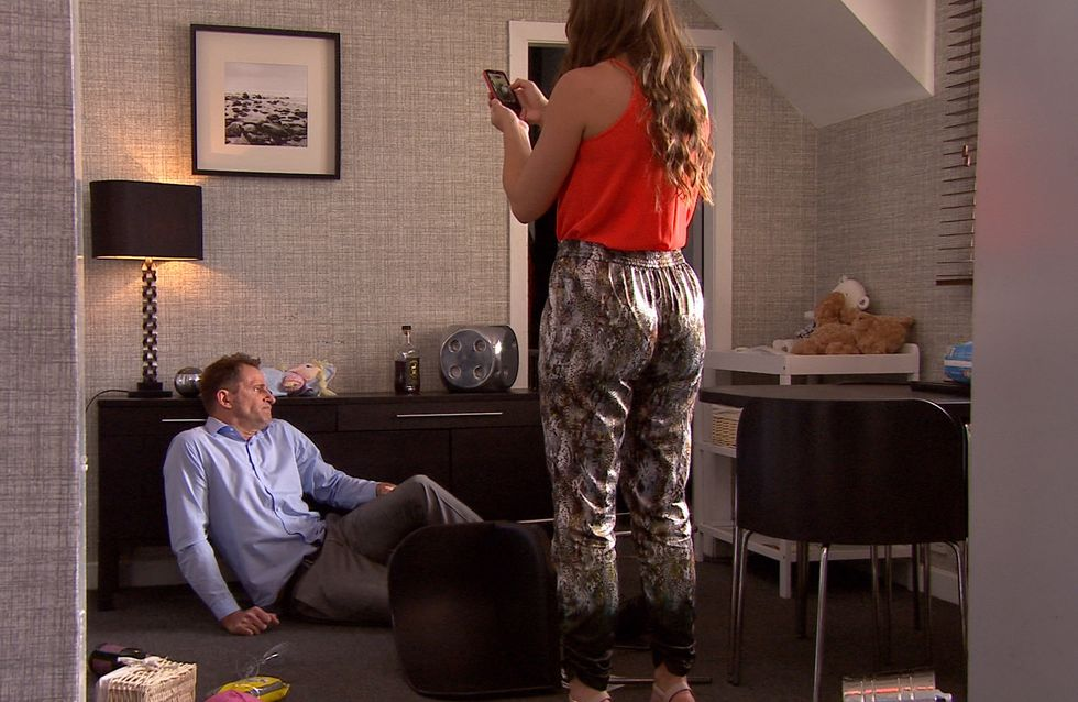 Hollyoaks 16/07 - ​Grace and Trevor are shocked