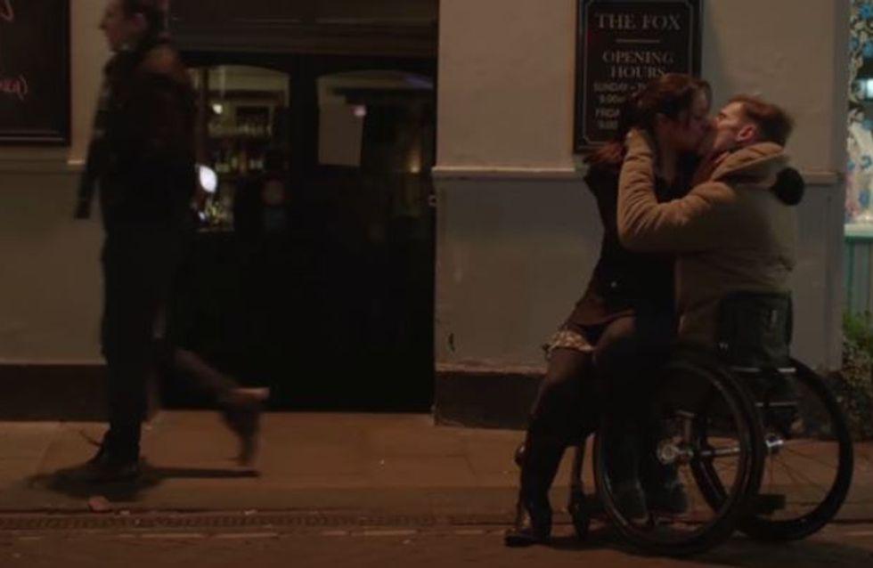 Cette campagne prône la tolérance en montrant qu'un handicap n'est pas un frein à l'amour (Vidéo)