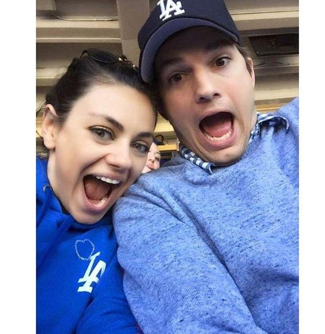 Mila Kunis et Ashton Kutcher.